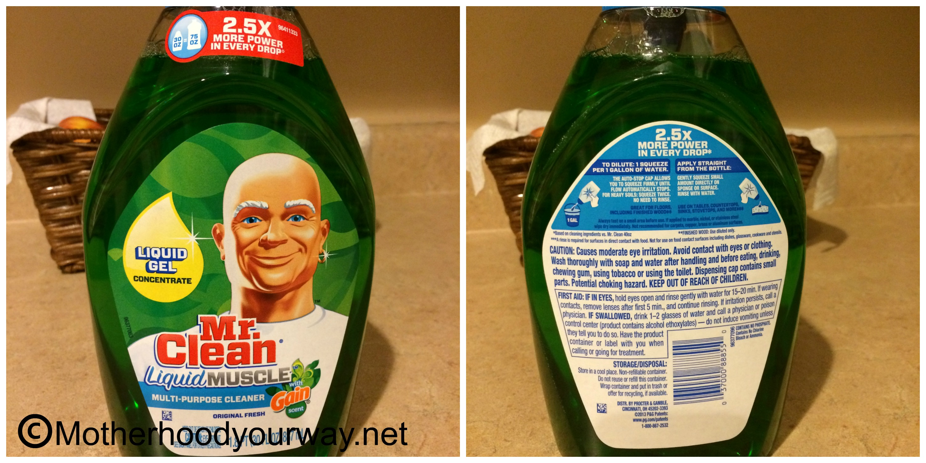 Clean Up in a Jiffy with Mr. Clean Liquid Muscle