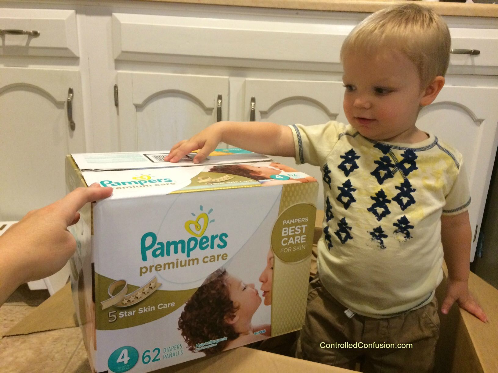 My #MothersPromise With Pampers Premium Diapers