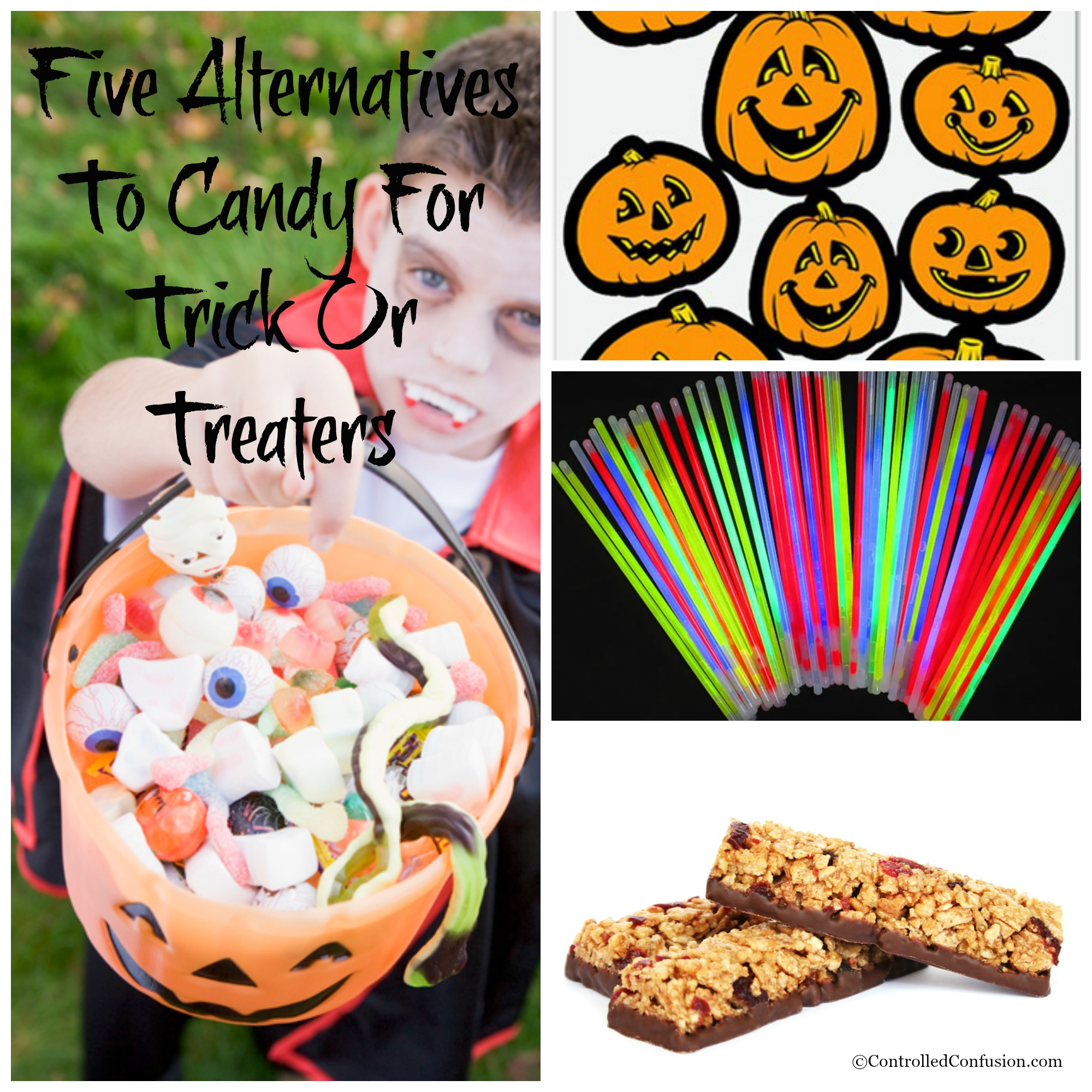 Five Alternatives To Candy For Trick Or Treaters
