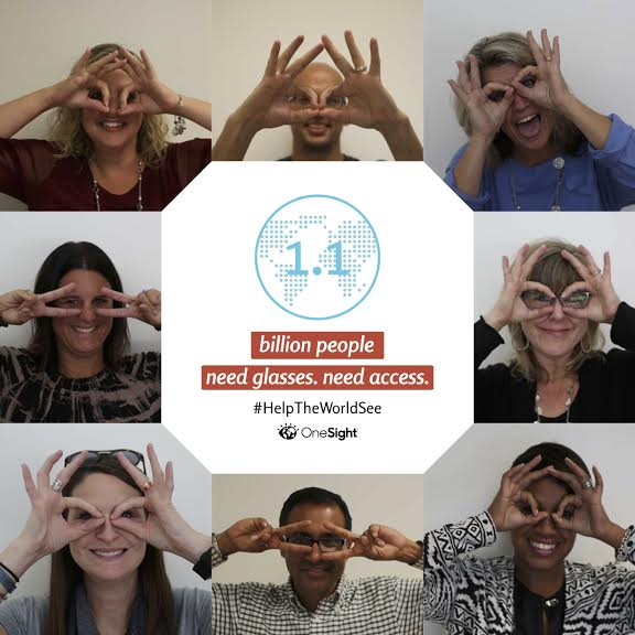 #HelpTheWorldSee With OneSight
