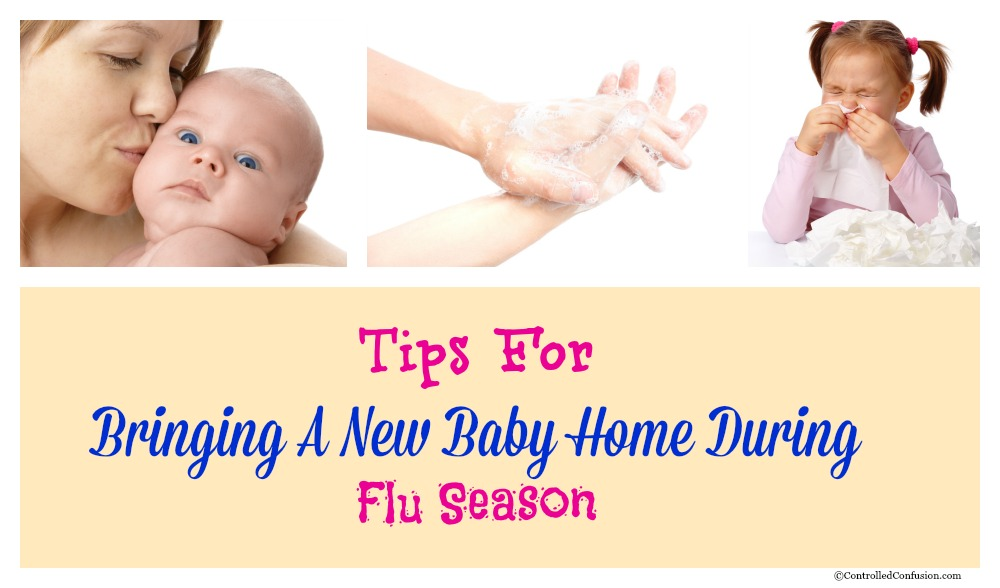 Tips For Bringing A New Baby Home During Flu Season