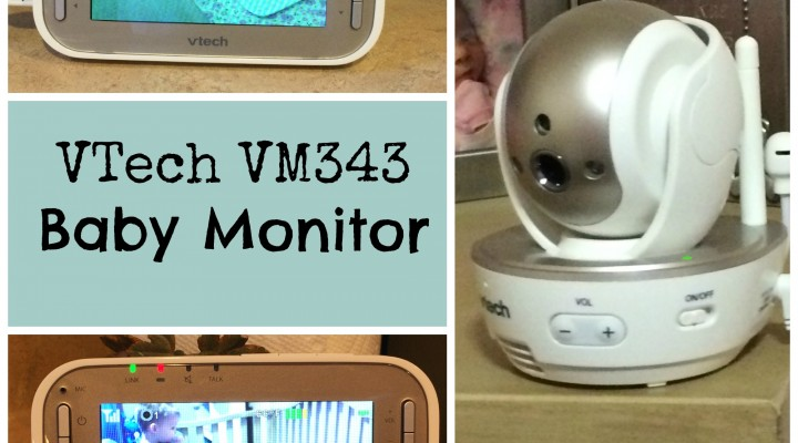 Have A Bird's Eye View With The VTech VM343 Baby Monitor