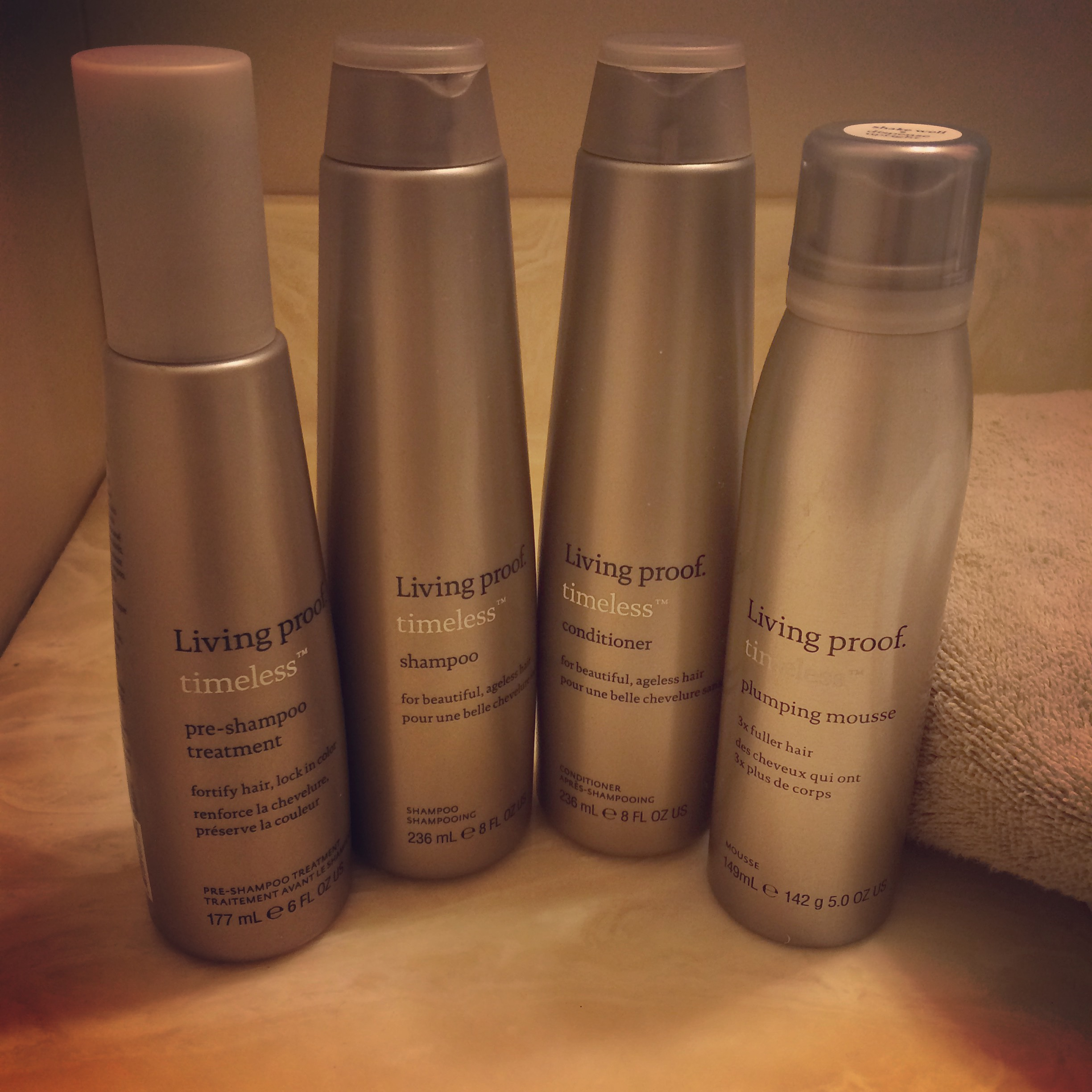 Combat Signs of Aging With Living Proof Timeless Collection