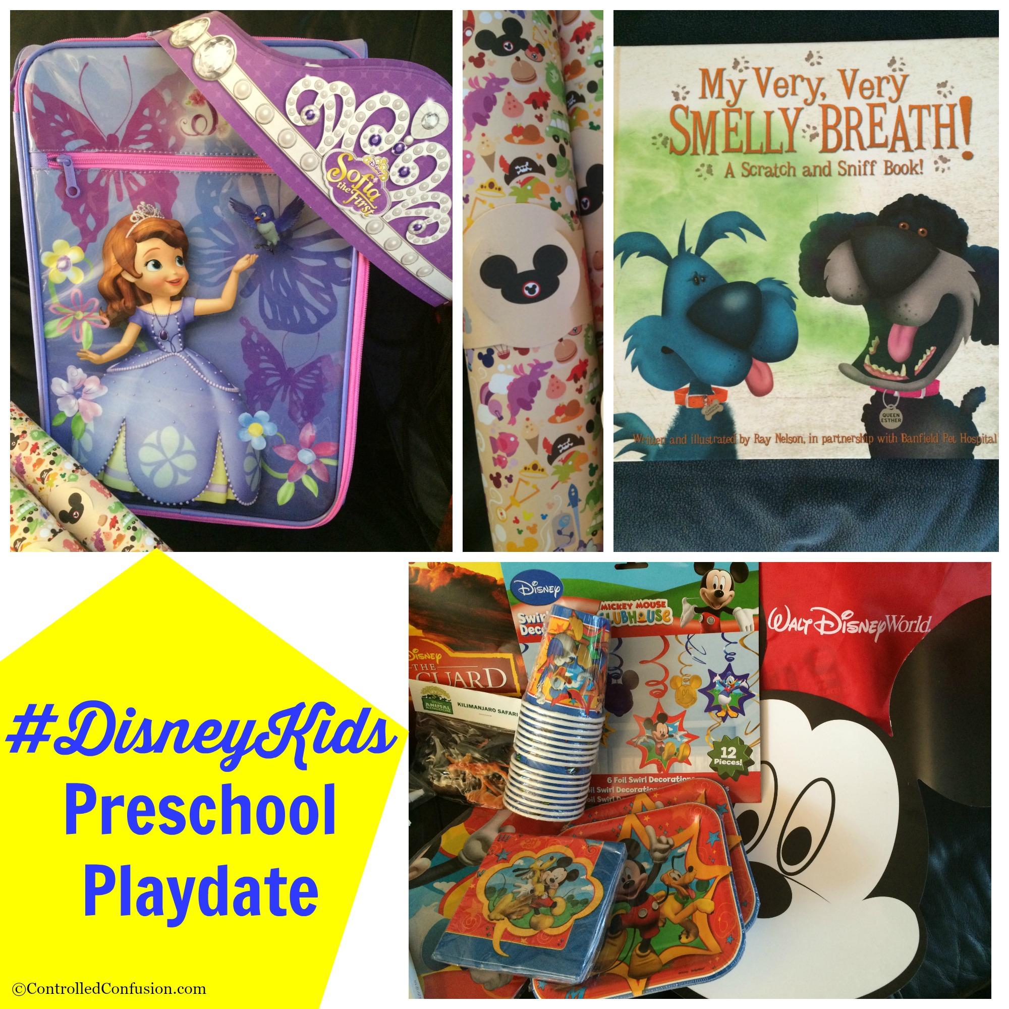 Planning a #DisneyKids Preschool Playdate Adventure