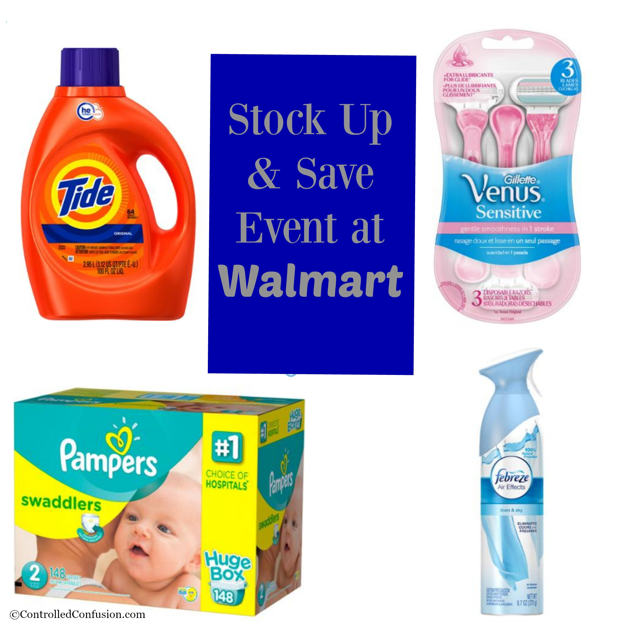 Get Ready for Spring at the Stock Up & Save Event at Walmart