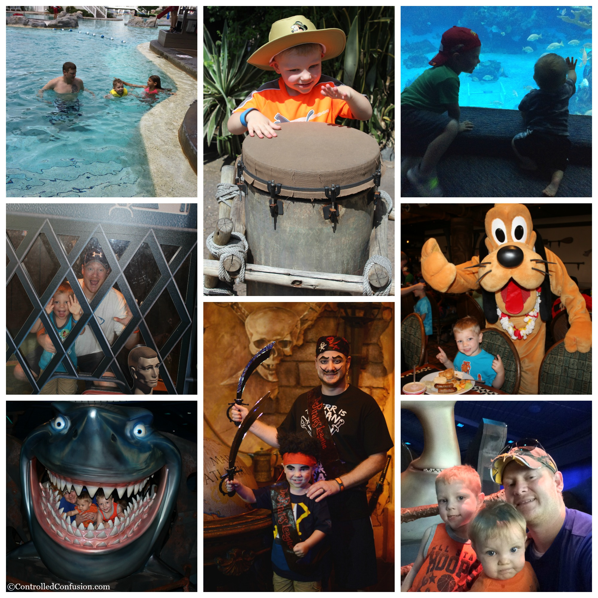 Five Fun Disney World Adventures