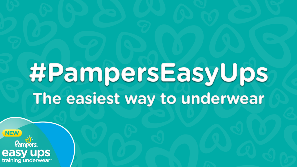 Make Potty Training Easy With #PampersEasyUps