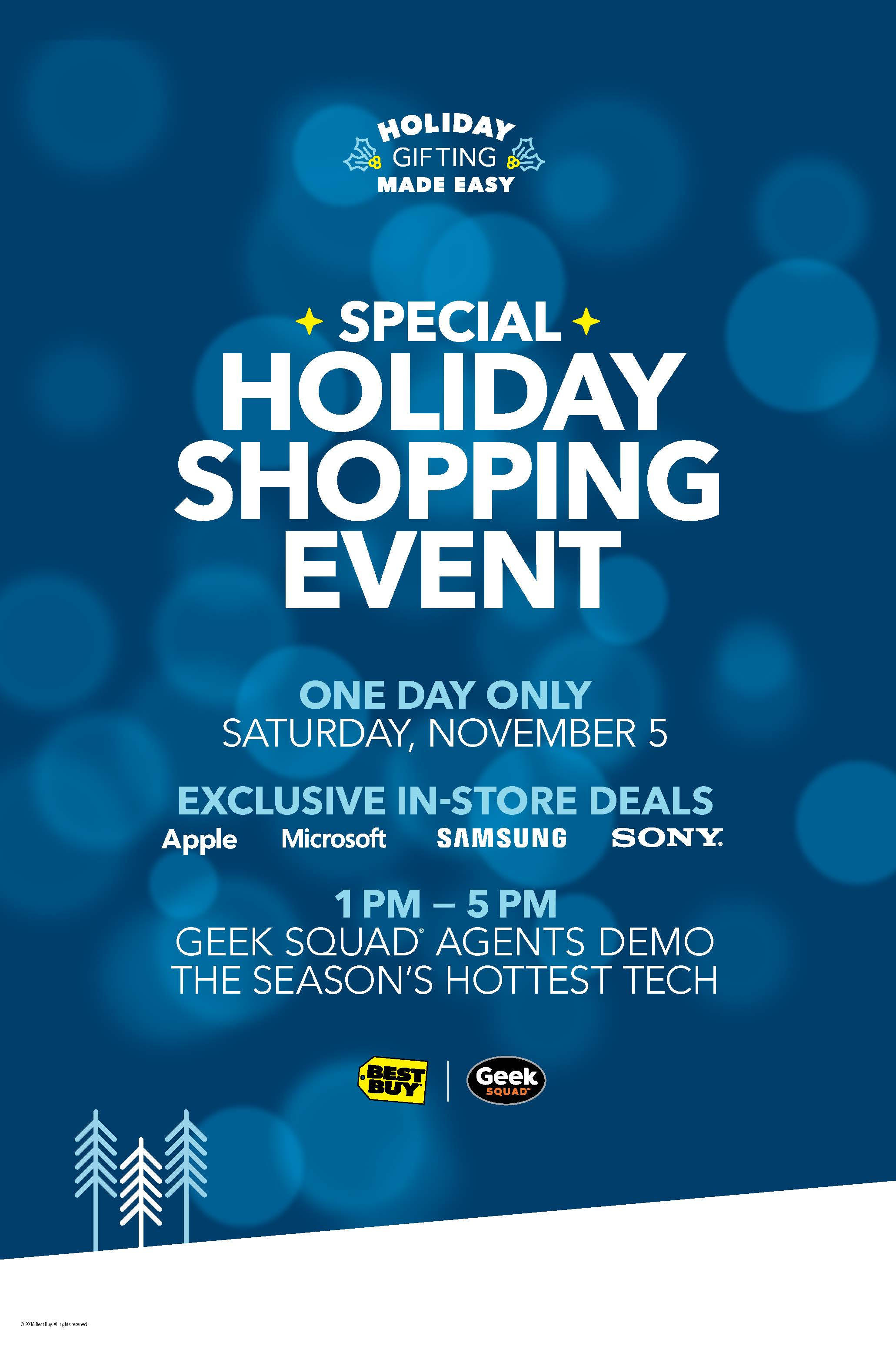 Take The Stress Out Of Shopping With The BestBuy Holiday Shopping Event