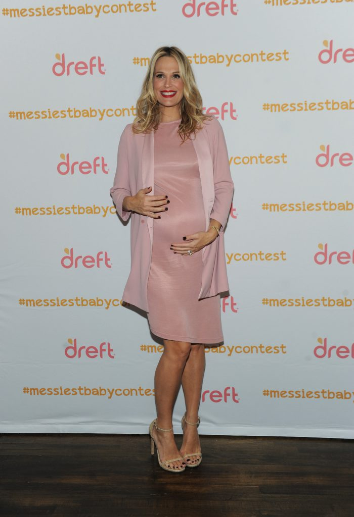 Model and actress Molly Sims hostsDreft'sAmerica'sMessiest Baby Play Dateto helpDreftlaunch its nationwide search for America's Messiest Baby, Tuesday, Oct. 25, 2016, in New York.For more information, visitwww.dreft.comor the brand's social media channels on Facebook (https://www.facebook.com/Dreft), Twitter (https://twitter.com/Dreft) and Instagram (https://www.instagram.com/dreft/).Parents can enter to winDreft'sAmerica's Messiest Baby Contest for a chance to have their little one featured on the cover of Parent's Magazine by submitting a photo of their favorite messy baby moment atwww.parents.com/dreftmessiestbabycontestor posting their photo on Twitter or Instagram using the hashtag #messiestbabycontest. (Photo by Diane Bondareff/Invision for Dreft/AP Images)
