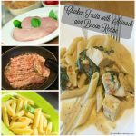 Chicken Pasta with Spinach and Bacon Recipe