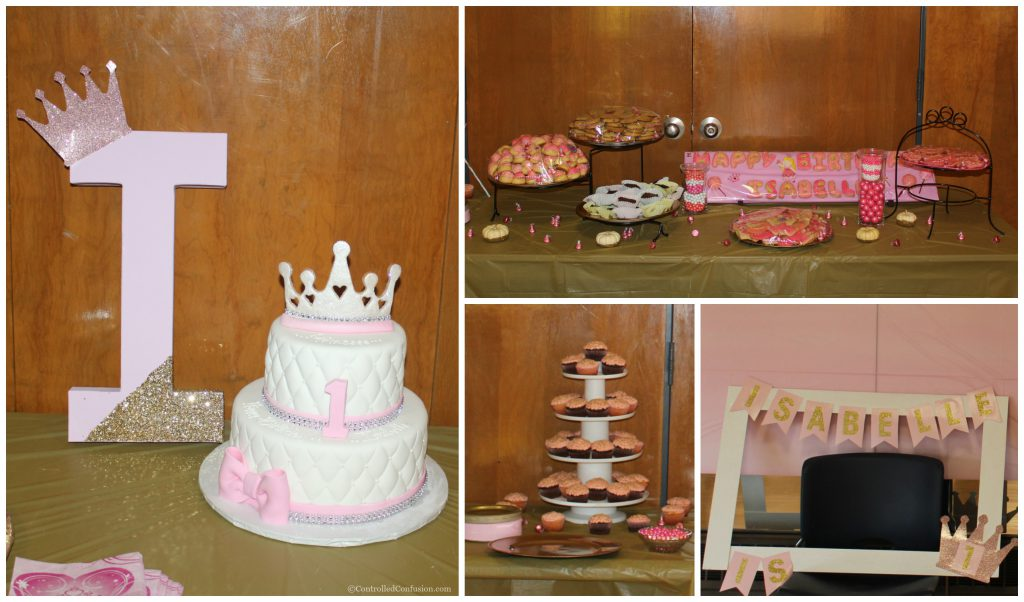 First Birthday Party Fit For A Princess