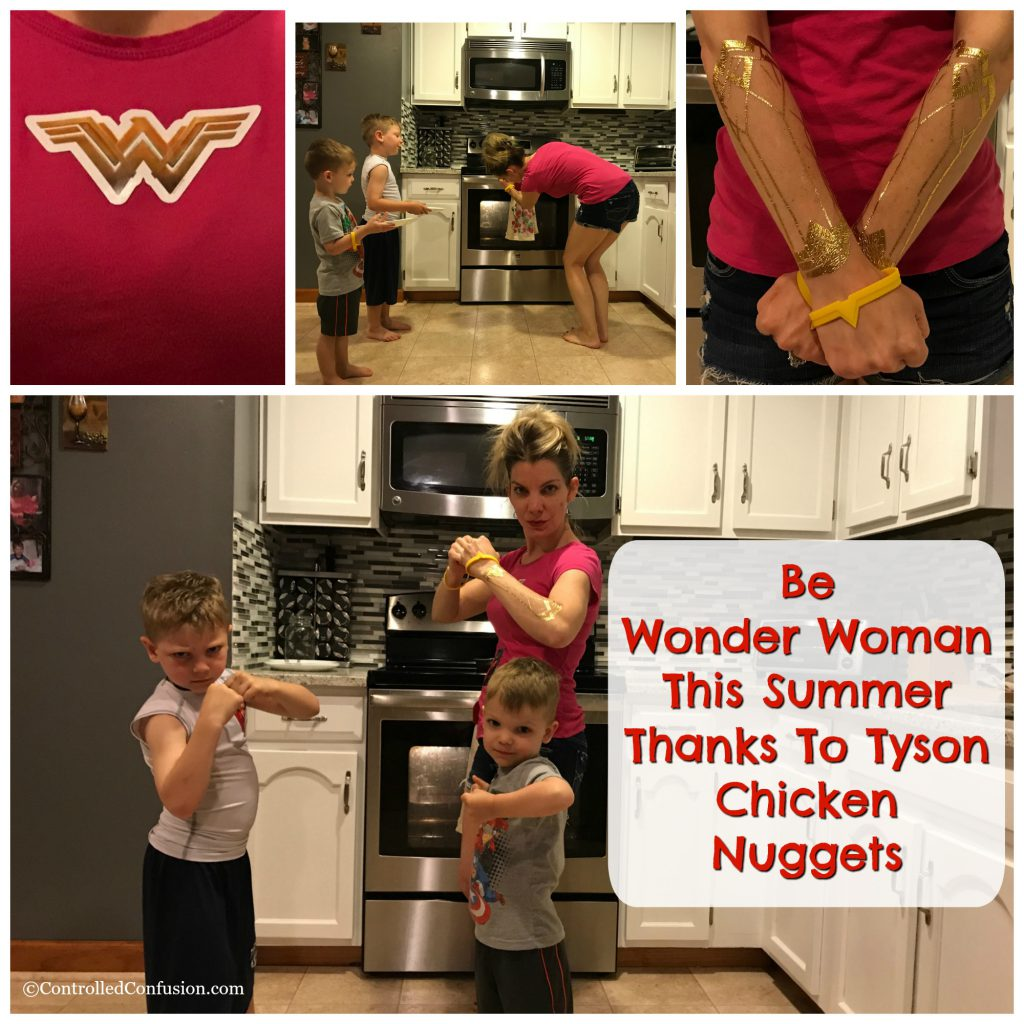 Be Wonder Woman This Summer Thanks To Tyson Chicken Nuggets