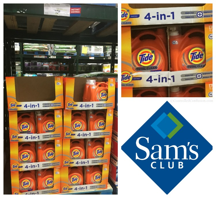 September Savings at Sam's Club With Tide, Downy, and Gain