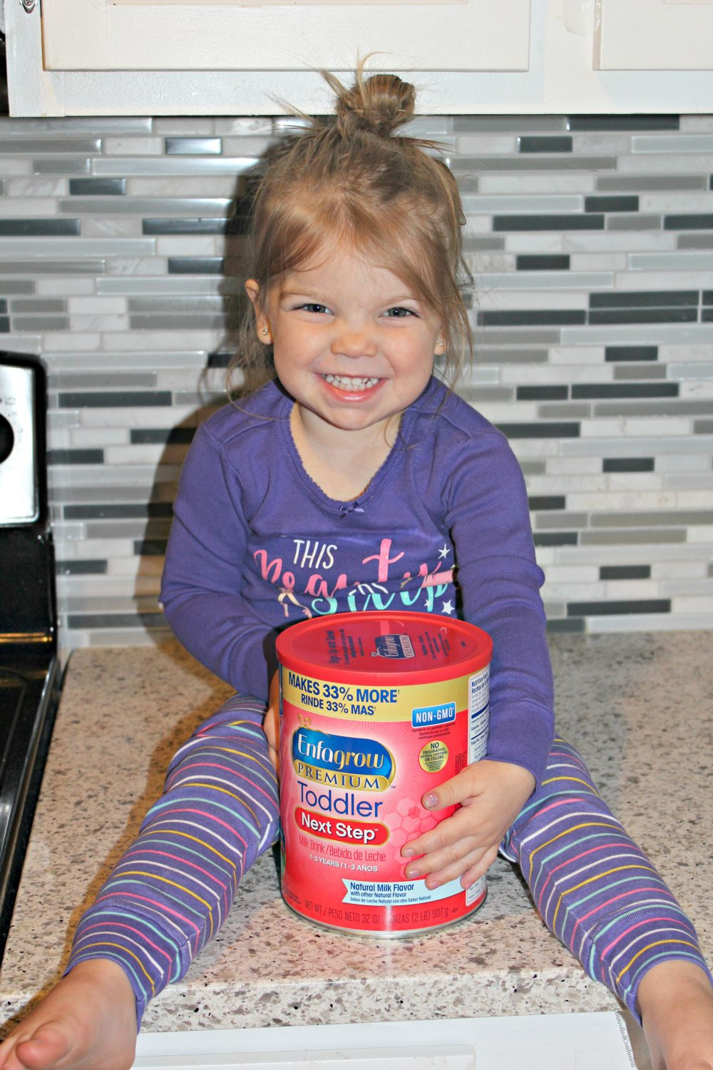 Enfagrow® Toddler Next Step™ Helps Nourish Toddler's Brain Development