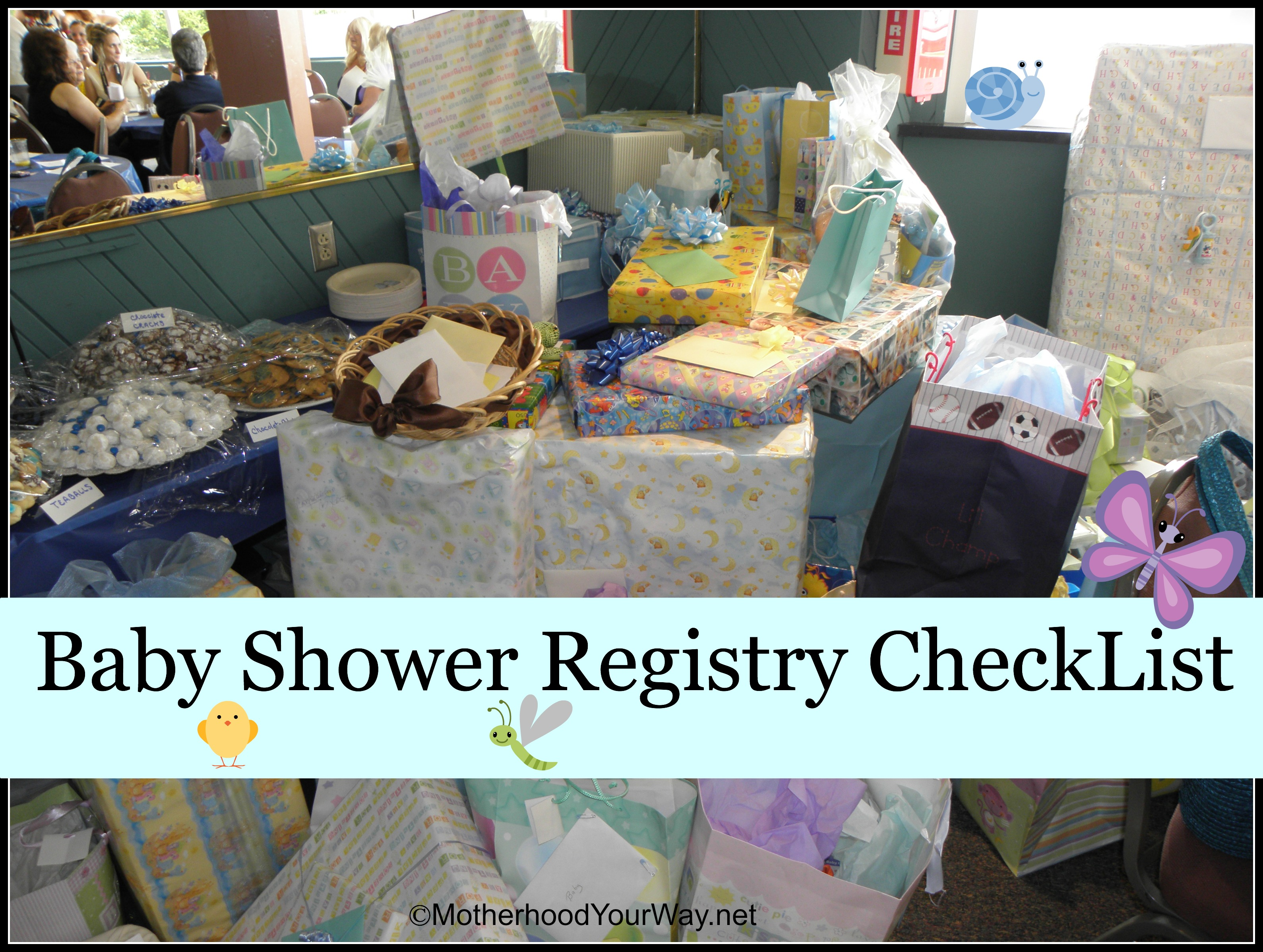What Items Should Be On Your Baby Shower Registry