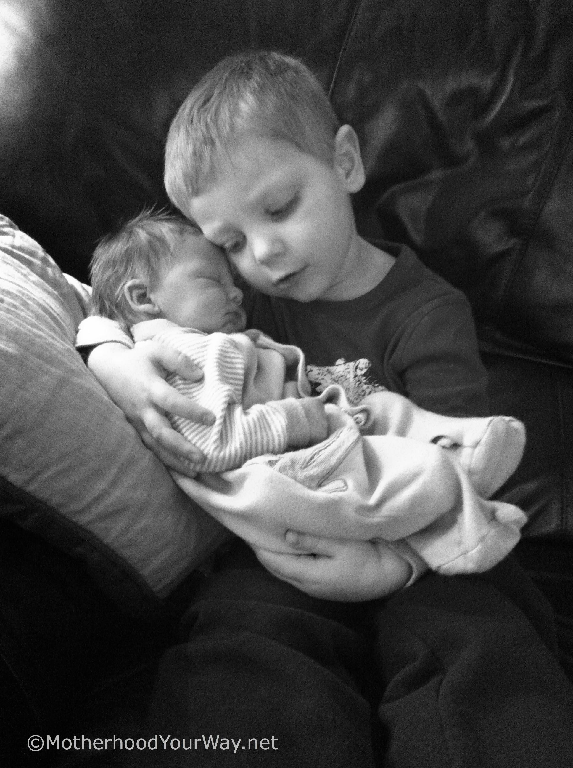 Wordless Wednesday- Brotherly Love