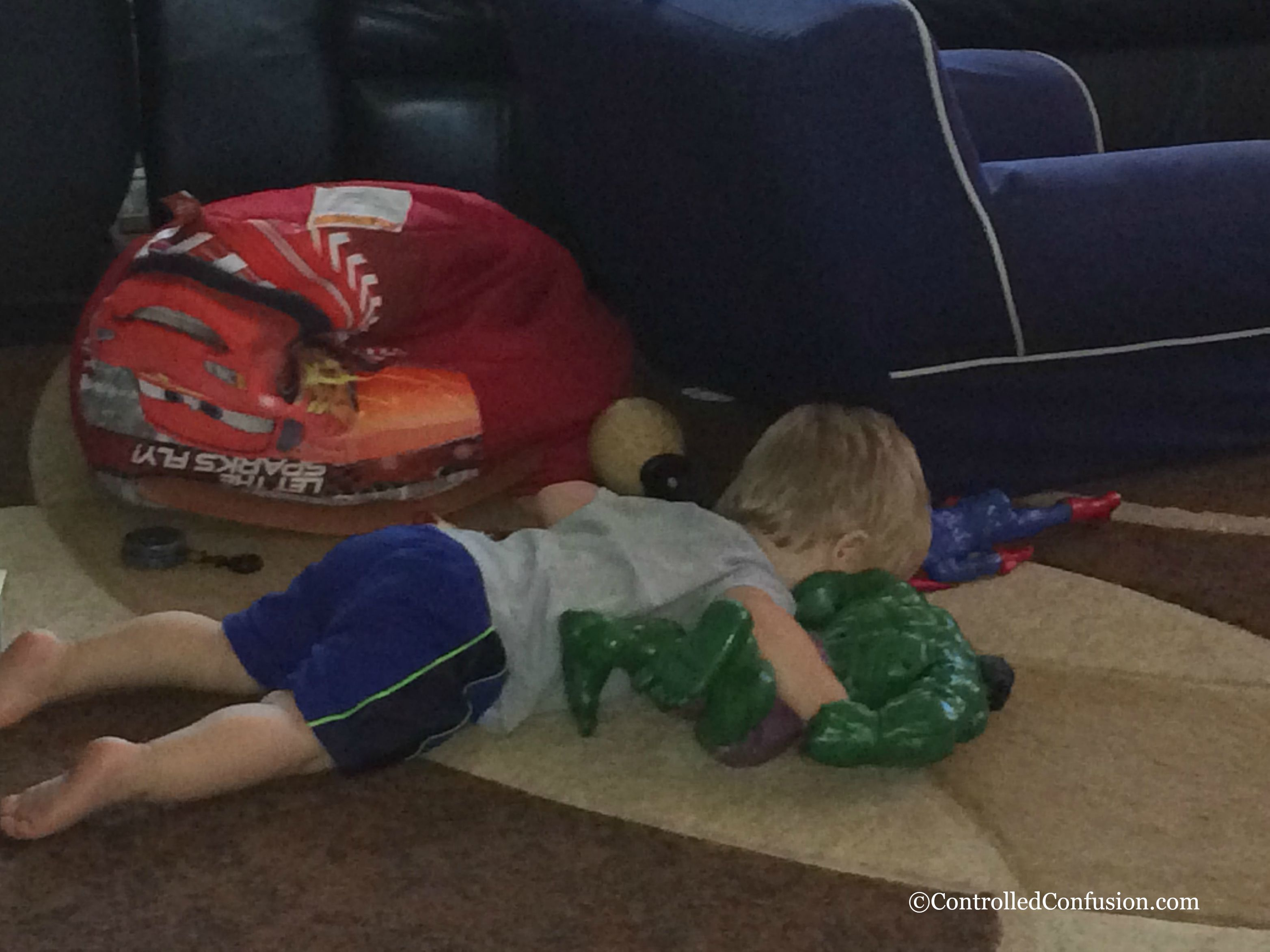 Wordless Wednesday- Exhaustion