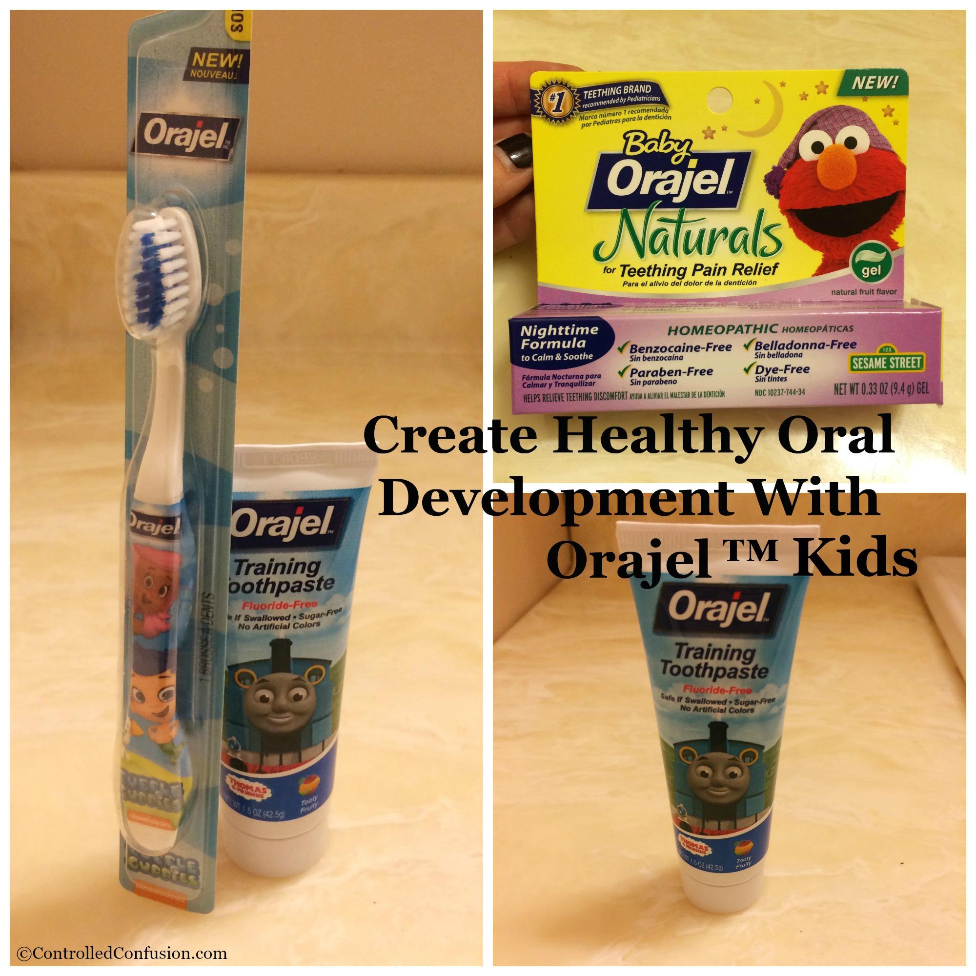 Create Healthy Oral Development with Orajel™ Kids