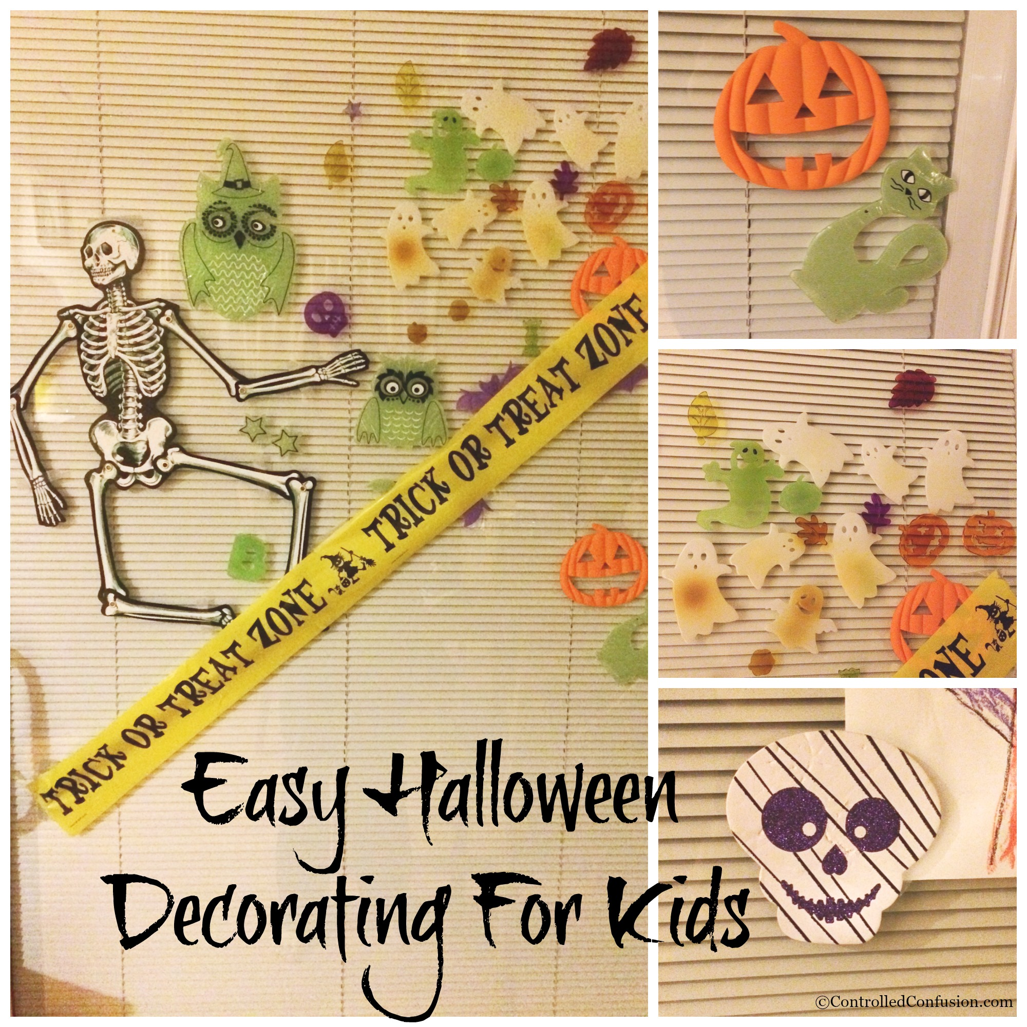 Easy Halloween Decorating For Kids