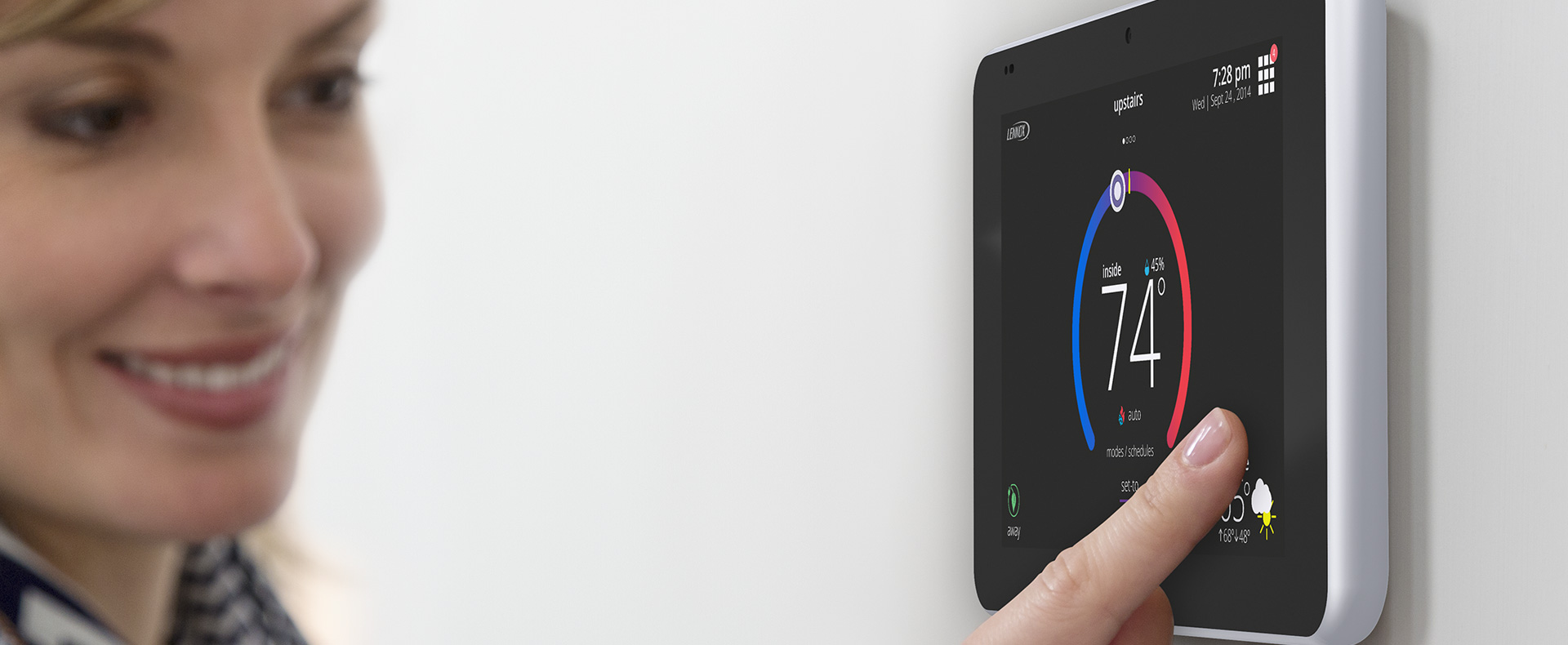 Dial in those heating bills this winter with the @LennoxAir iComfort® S30 #LennoxS30