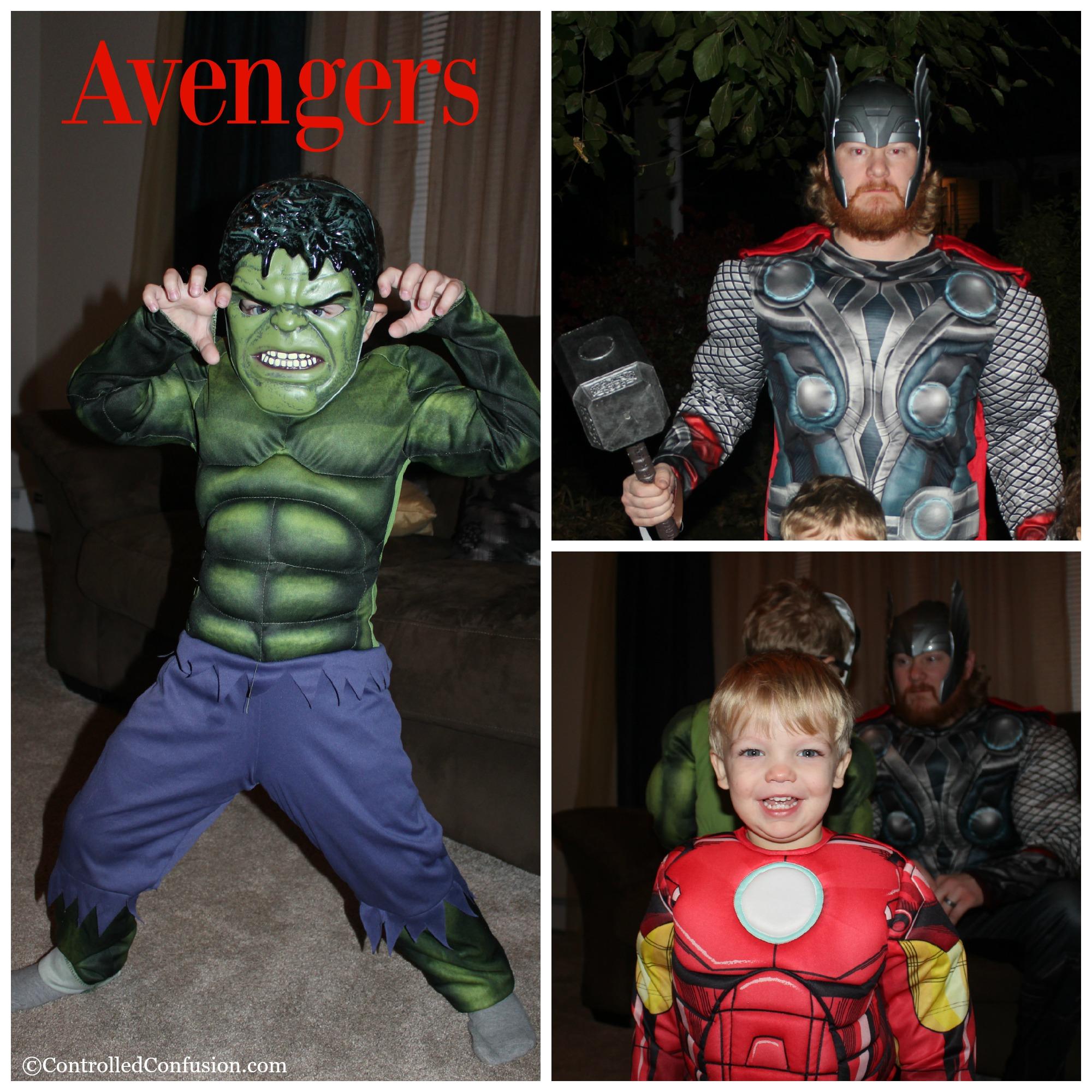 A Team of Avengers