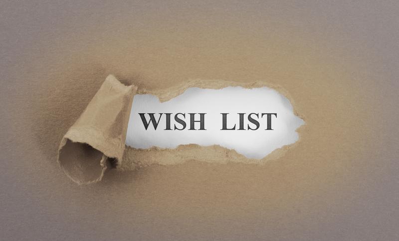 My Holiday Wish List