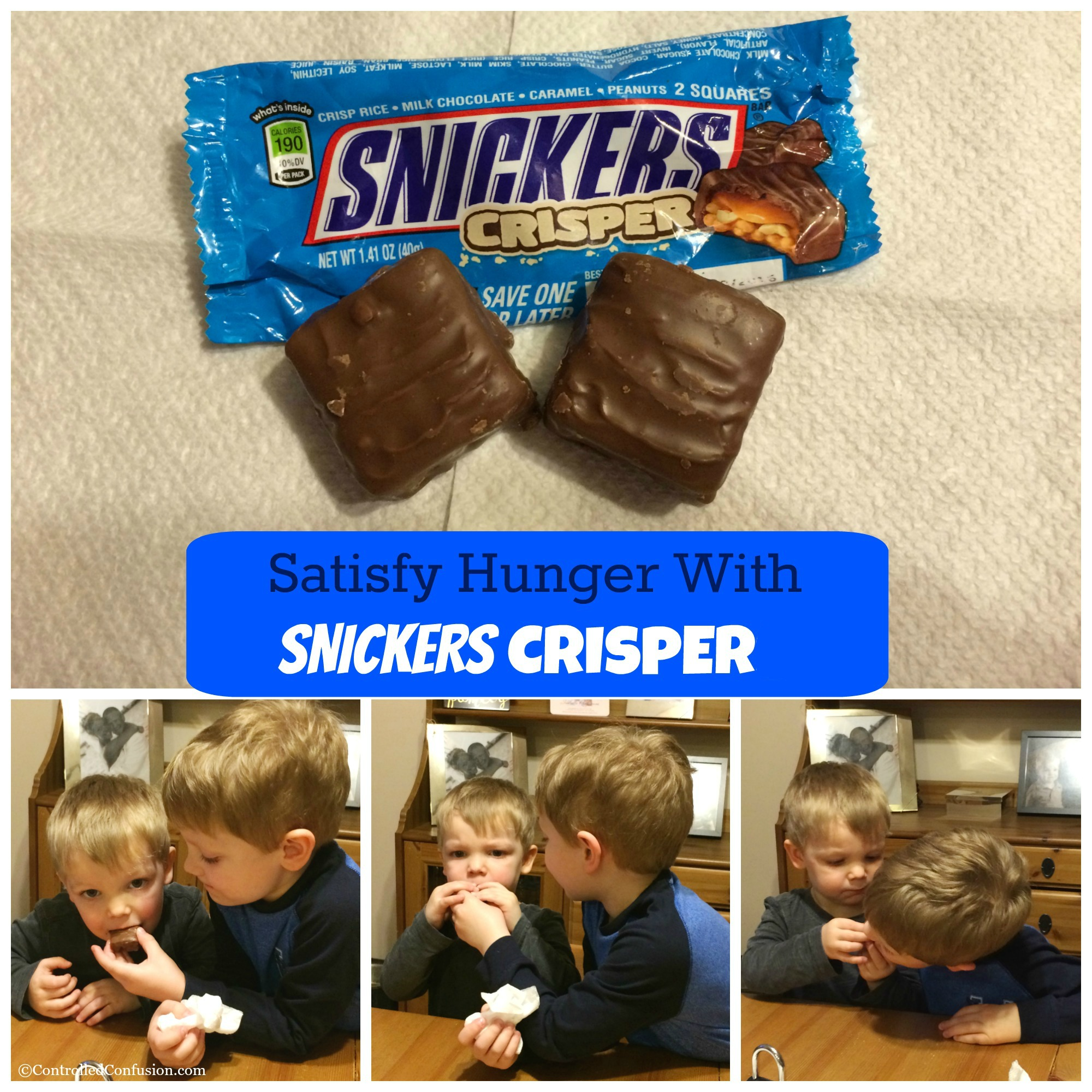 Satisfy Hunger With SNICKERS Crisper