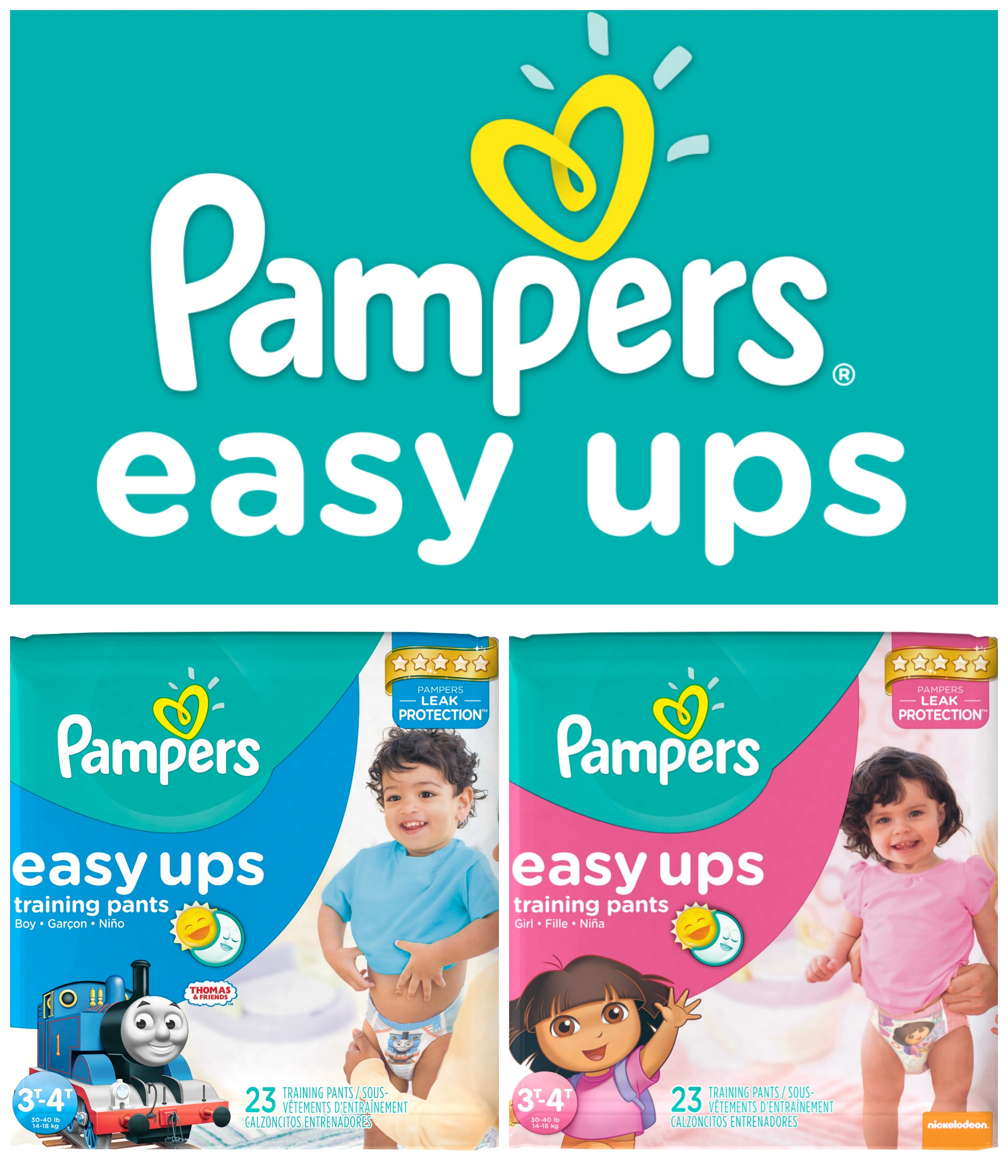 Five Simple Steps for Potty Training with Pampers Easy Ups
