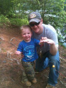 Treydans first time fishing (7)