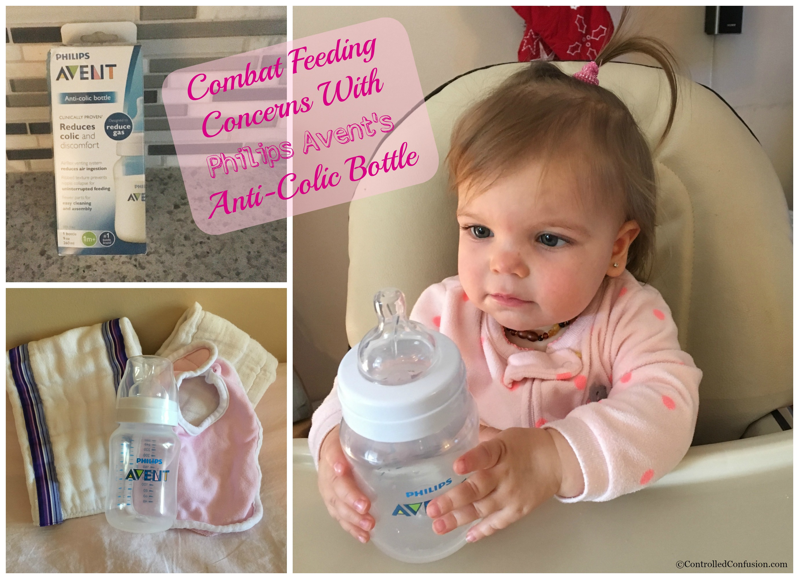 Combat Feeding Concerns With Philips Avent's Anti-Colic Bottle