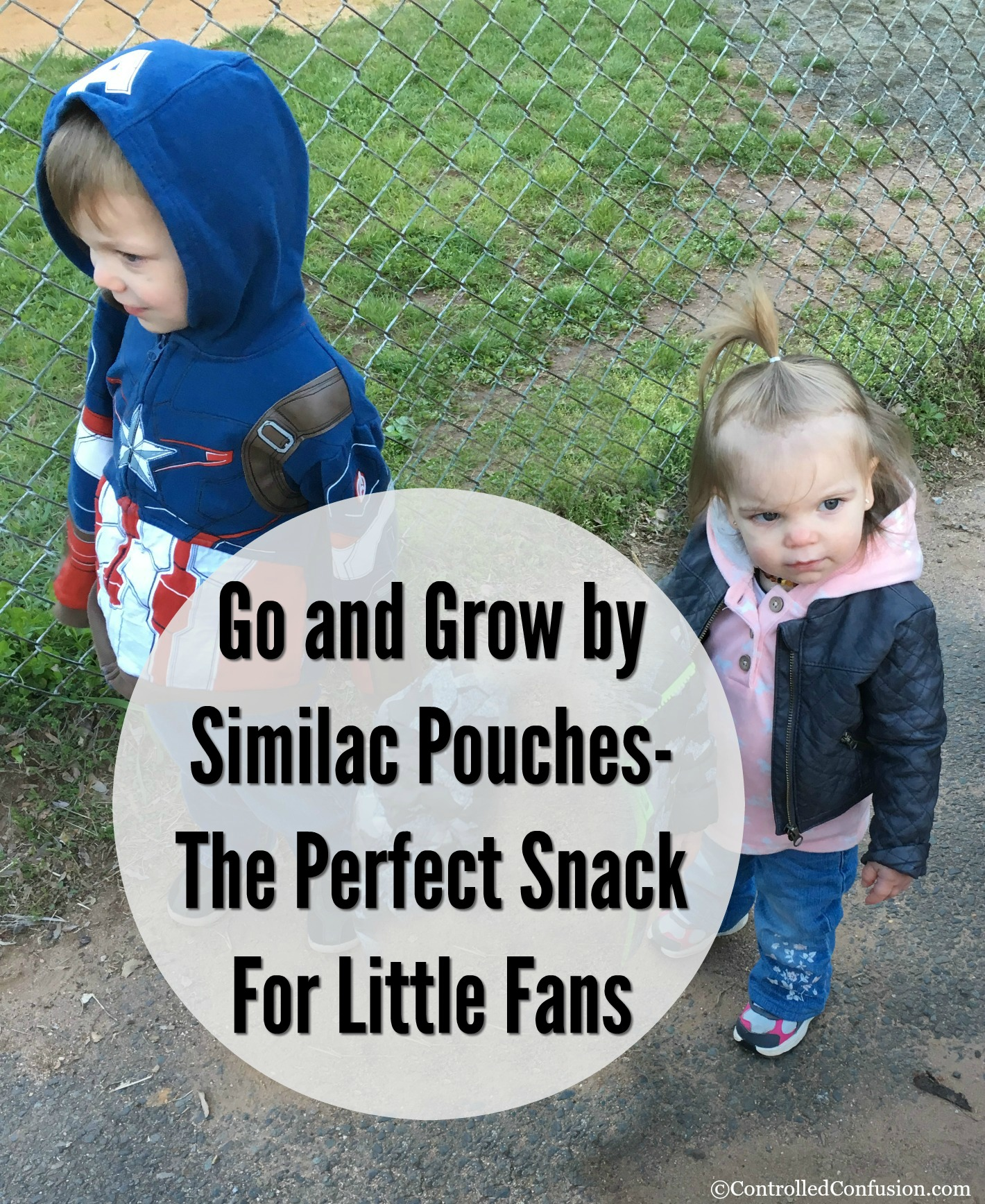 Go and Grow by Similac Pouches- The Perfect Snack For Little Fans