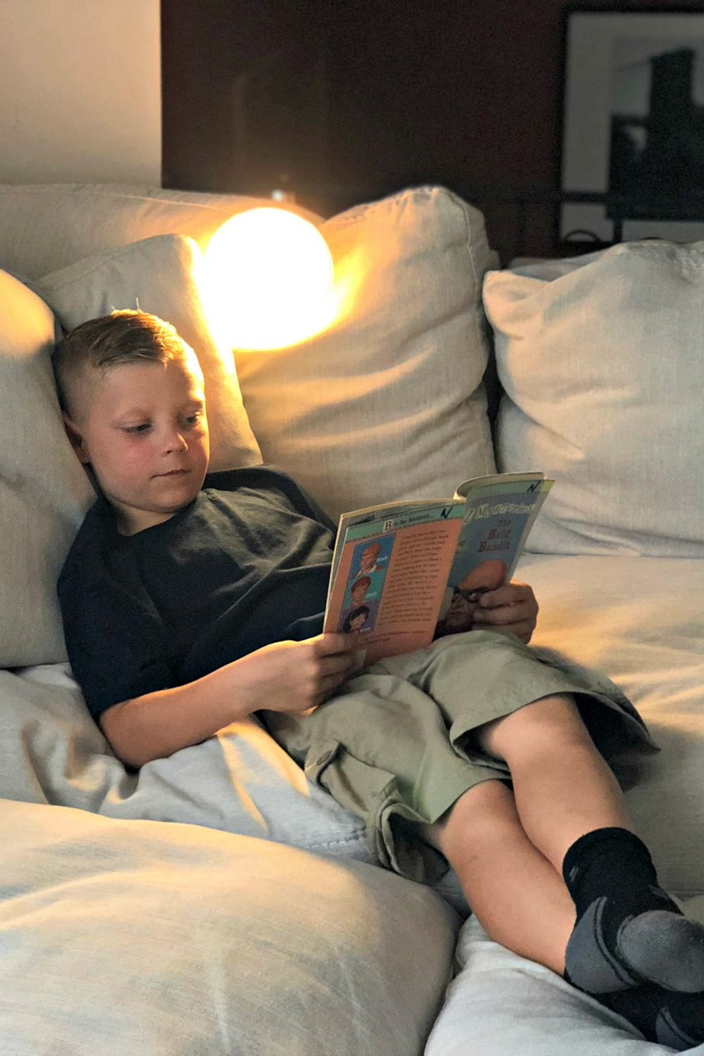 How Philips Hue Smart Lighting Helped Our Family Get Into Back to School Mode.