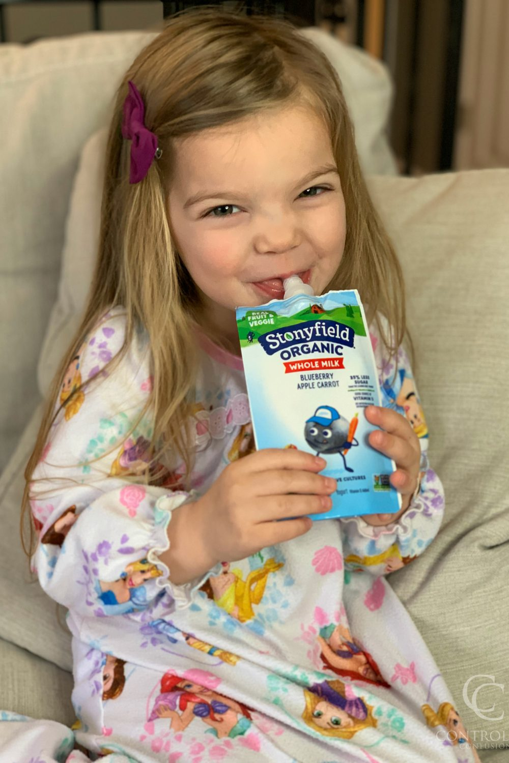 Three Tips to Getting Your Kids to Eat More Vegetables with Stonyfield® Organic Whole Milk Yogurt Pouches